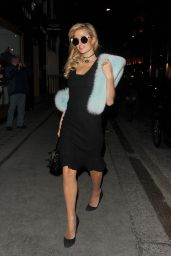 Paris Hilton - Leaving the Mayfair Hotel in London 1/26/ 2017
