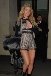 Paris Hilton - Out in London, England 01/21/ 2017