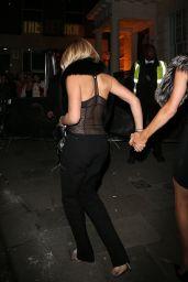 Paris Hilton & Sofia Richie at Tape Nightclub in London 1/20/ 2017