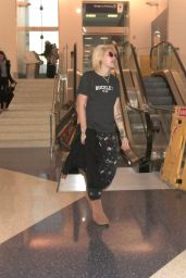 Paris Jackson at LAX Airport in Los Angeles 1/29/ 2017