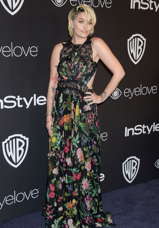 Paris Jackson – InStyle and Warner Bros Golden Globes After Party 1/8/ 2017