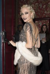 Pixie Lott - Going to a Roaring Twenties Birthday Party in London 1/21/ 2017