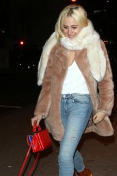 Pixie Lott - Leaving Koko in Camden in London 1/17/ 2017