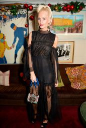 Poppy Delevingne - LOVE Magazine Christmas Party in London, December 2016
