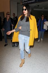 Priyanka Chopra - Arrives in Los Angeles 1/18/ 2017