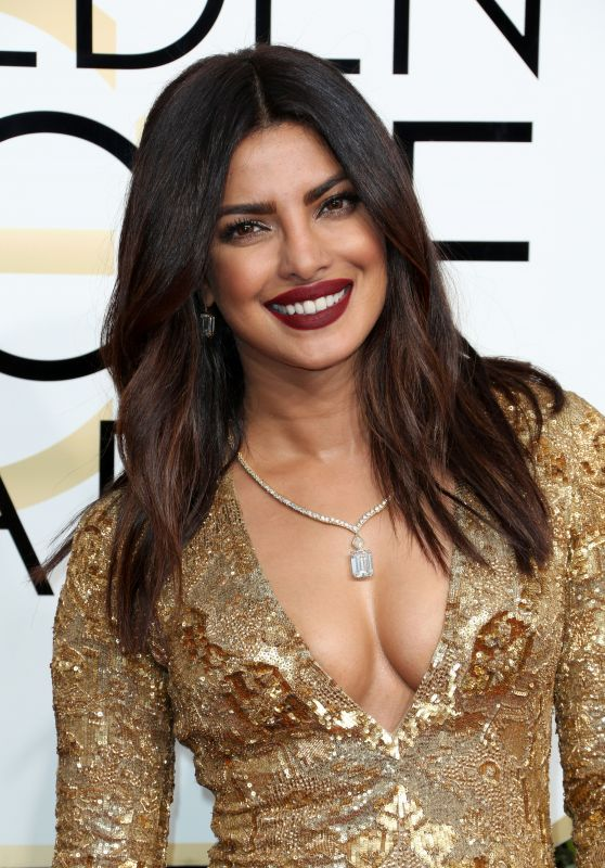 Priyanka Chopra – Golden Globe Awards in Beverly Hills 01/08/ 2017