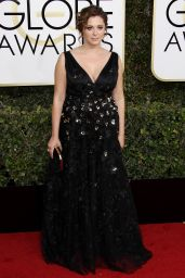 Rachel Bloom – Golden Globe Awards in Beverly Hills 01/08/ 2017