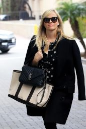 Reese Witherspoon - Visits Her Office in Beverly Hills 1/4/ 2017