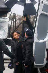 Rihanna, Sarah Paulson & Sandra Bullock -