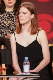 Rose Leslie - 2017 CBS Winter TCA Tour Panel