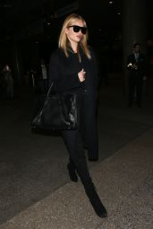 Rosie Huntington-Whiteley - Arrives at LAX in Los Angeles 1/24/ 2017