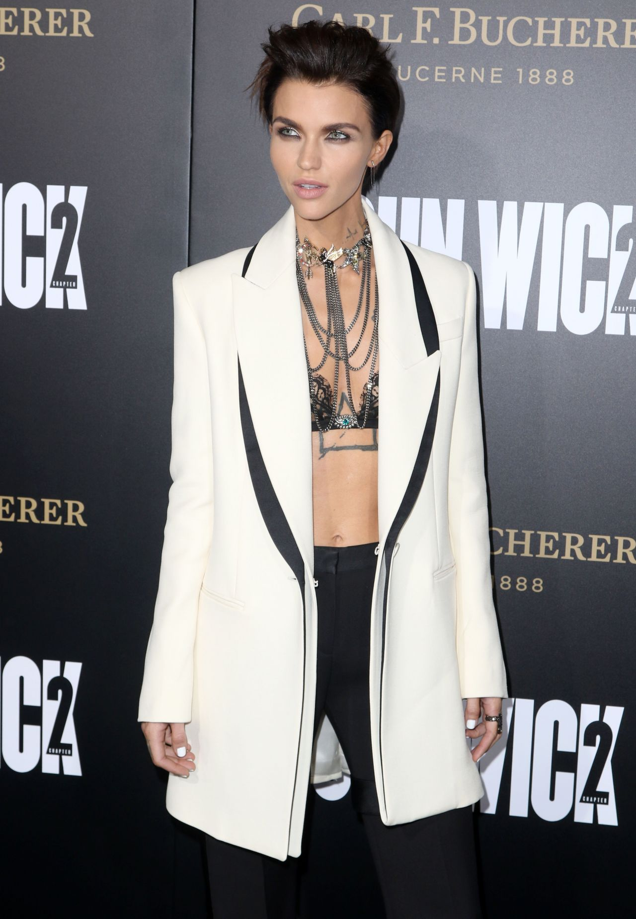 Ruby Rose John Wick Chapter 2 Premiere In Los Angeles