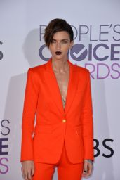 Ruby Rose – People's Choice Awards in Los Angeles 1/18/ 2017