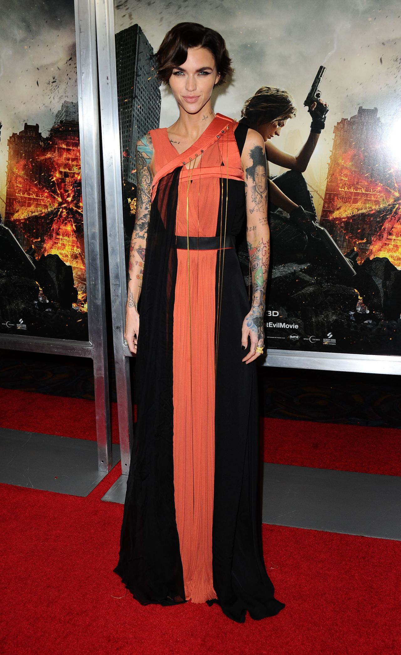 Ruby Rose Resident Evil The Final Chapter Premiere In