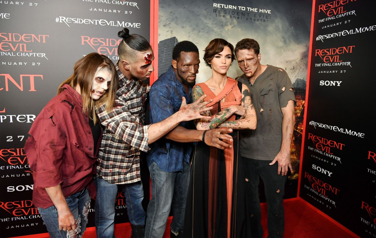 Resident Evil The Final Chapter Premiere In: Resident Evil: The Final Chapter Premiere In