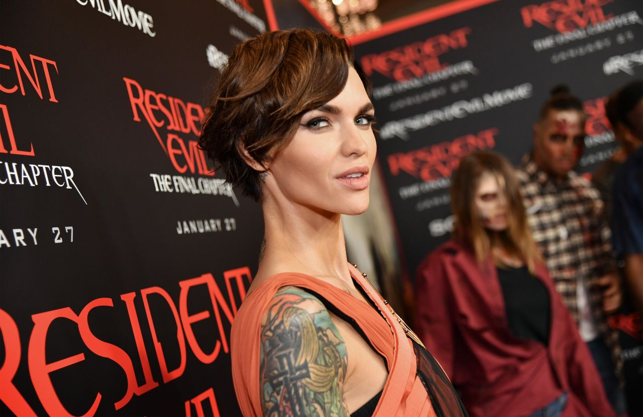 Resident Evil The Final Chapter Ruby Rose: Resident Evil: The Final Chapter Premiere In