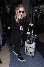 Sabrina Carpenter at LAX Airport 1/12/ 2017