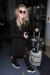 Sabrina Carpenter at LAX Airport 1/12/ 2017