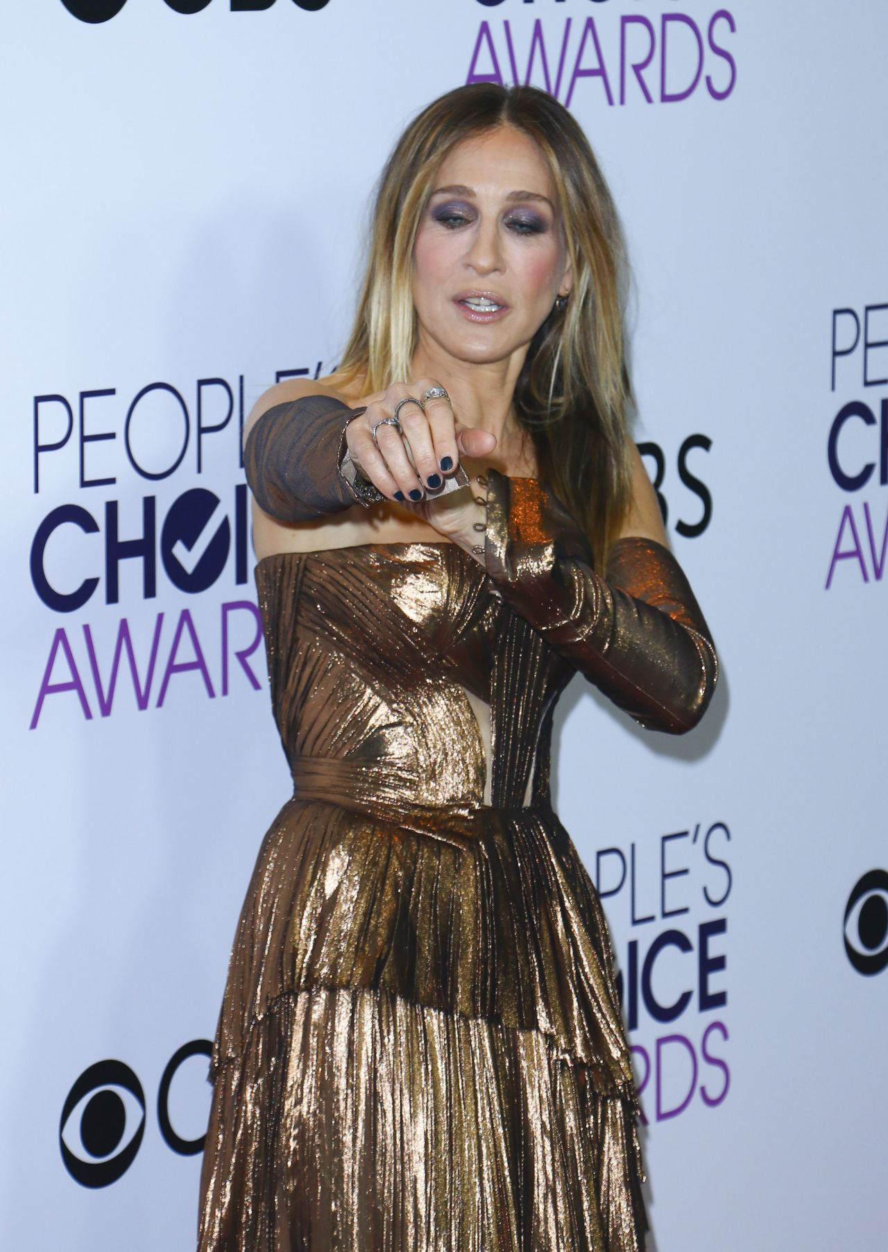 Sarah Jessica Parker People S Choice Awards In Los