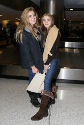 Saxon & Brighton Sharbino - LAX Airport in Los Angeles 1/22/ 2017