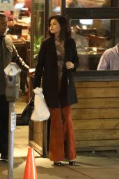 Selena Gomez - Dinner at Boneyard Bistro in Sherman Oaks 1/17/ 2017