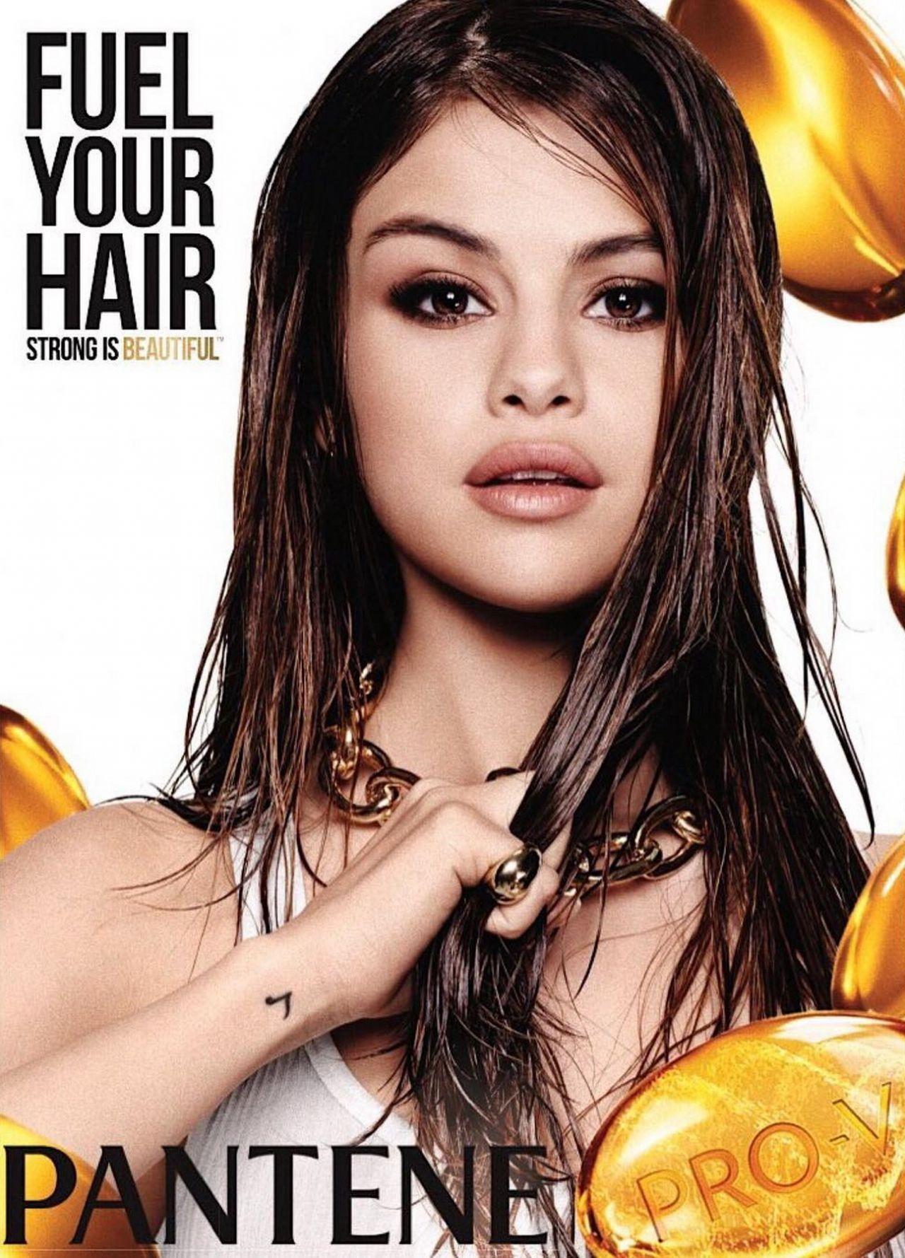 Selena Gomez Pantene 2016 Winter Campaign