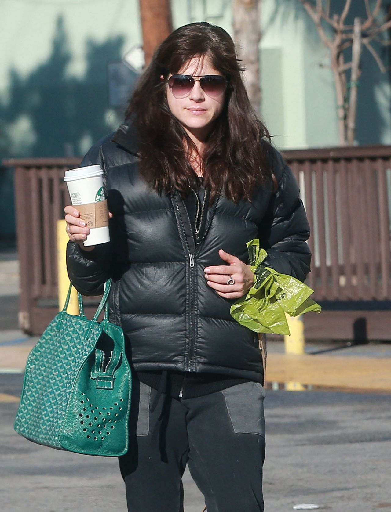 Selma Blair - Stop for a Morning Coffee at Starbucks in ...