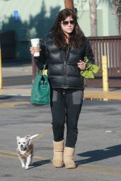 Selma Blair - Stop for a Morning Coffee at Starbucks in Studio City 1/24/ 2017