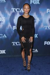 Serayah McNeill – FOX Winter TCA All Star Party in Pasadena, CA 01/11/ 2017
