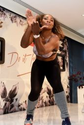 Serena Williams - Taking Part in a Dance Class in Melbourne 1/12/ 2017