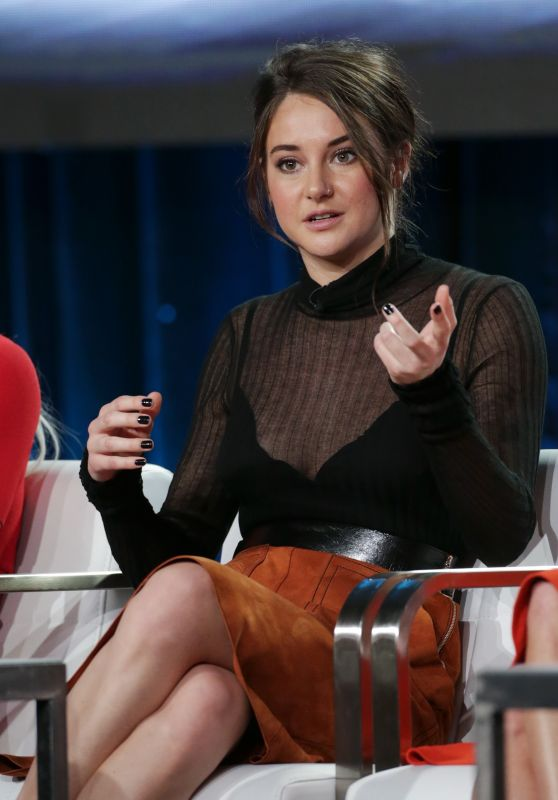 Shailene Woodley - HBO's 'Big Little Lies' Panel at TCA Winter Press Tour in Los Angeles 1/14/ 2017