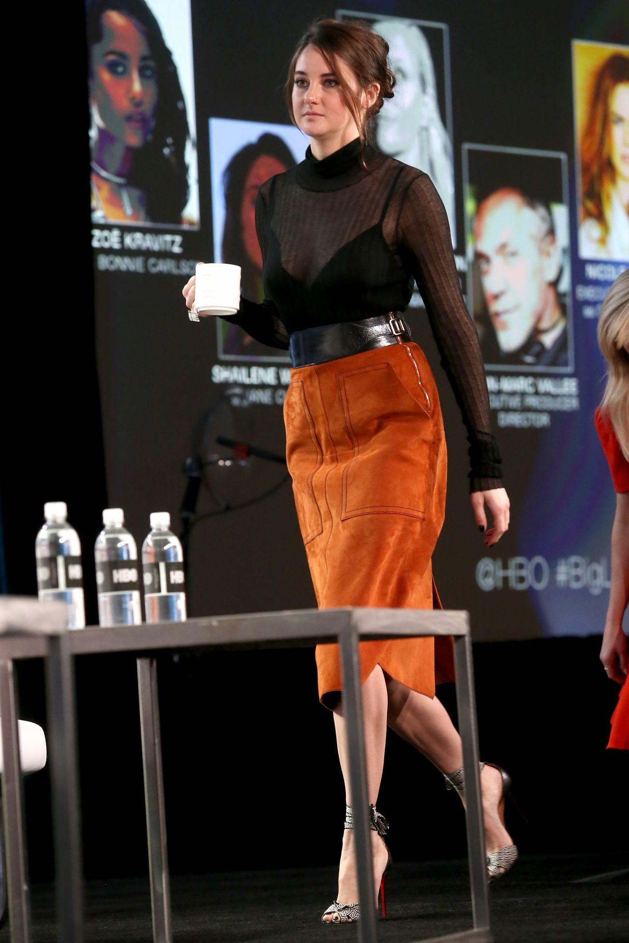 Watch Shailene woodley hbos big little lies press conference in la 272019 video