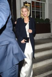 Sienna Miller - Leaving 34 Restaurant in London 1/11/ 2017