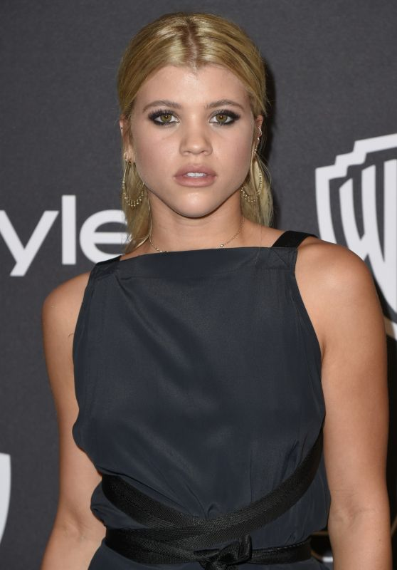 Sofia Richie – InStyle and Warner Bros Golden Globes After Party 1/8/ 2017