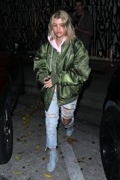 Sofia Richie - Leaves Dinner in West Hollywood 1/16/ 2017