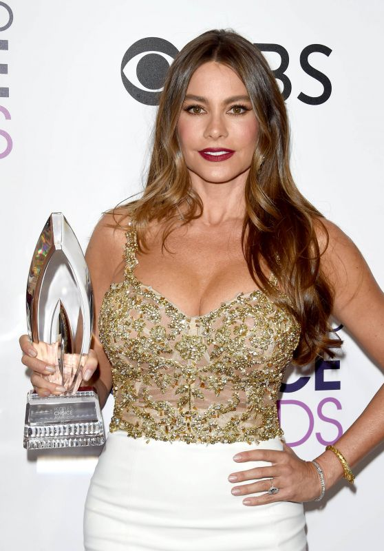 Sofia Vergara – People's Choice Awards in Los Angeles 1/18/ 2017