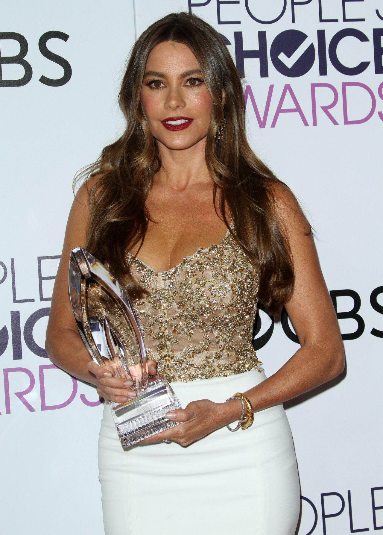 Sofia Vergara People S Choice Awards In Los Angeles 1 18