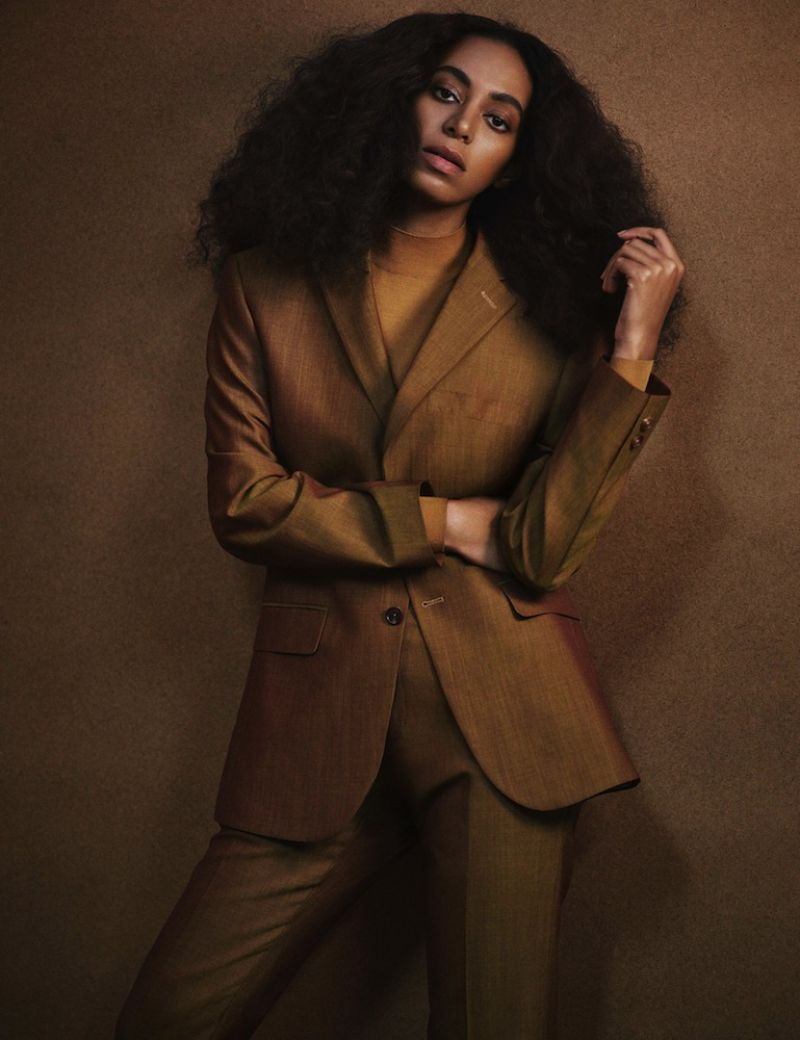 Solange Knowles - Interview Magazine February 2017 Photos