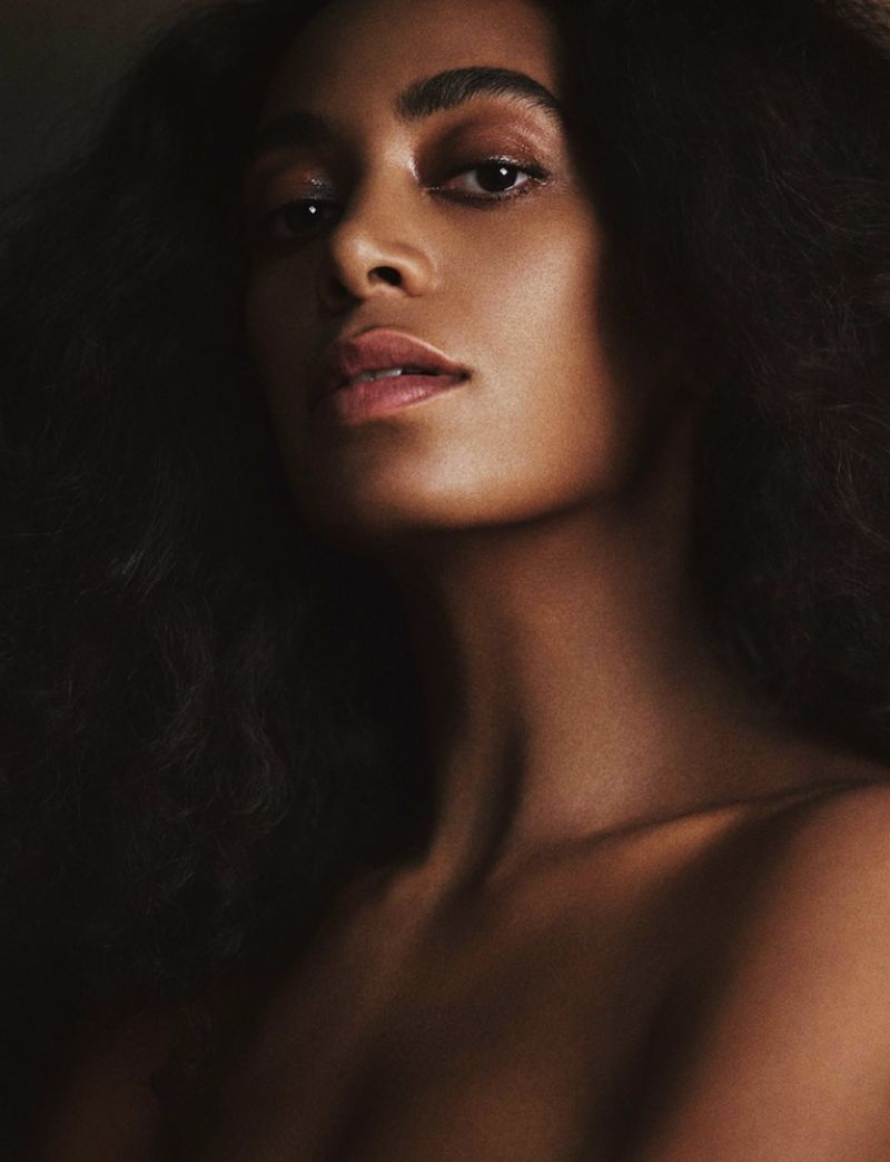 Solange Knowles Interview Magazine February 2017 Photos