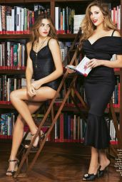 Sophia Stallone, Sistine Stallone, Jennifer Stallone - Grazia Magazine Italia January 2017 Issue