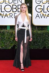 Sophie Turner – Golden Globe Awards in Beverly Hills 01/08/ 2017