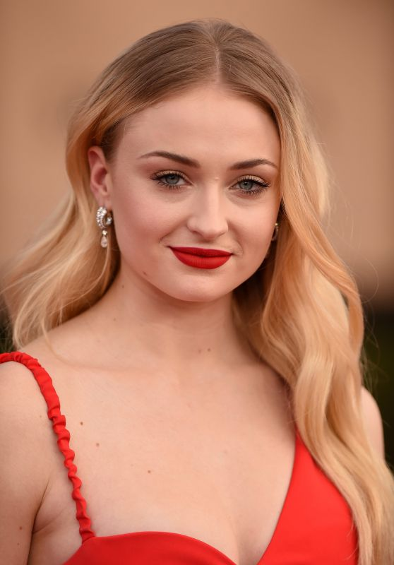 Sophie Turner Sag Awards In Los Angeles 1 29 2017