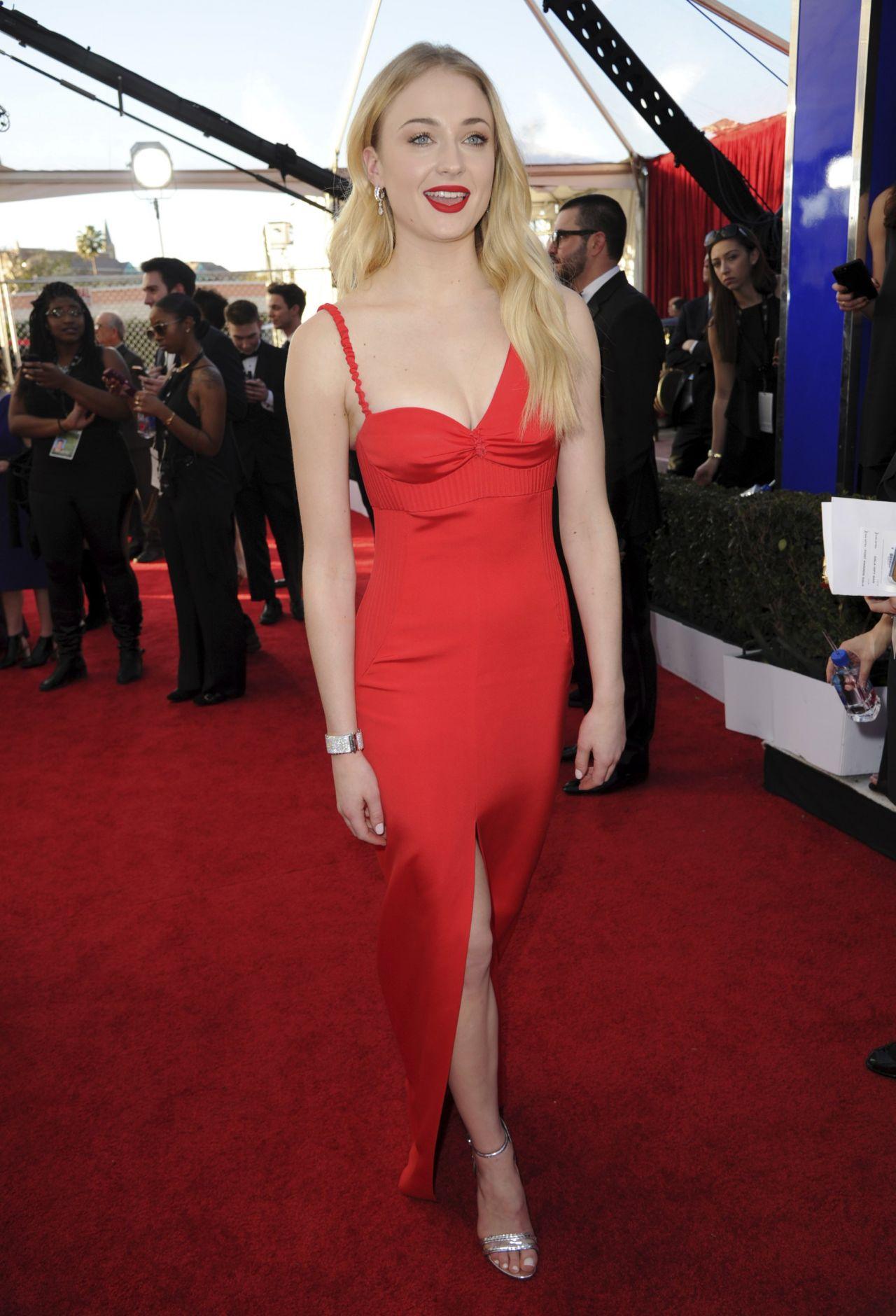 Sophie Turner – SAG Awards in Los Angeles 1/29/ 2017