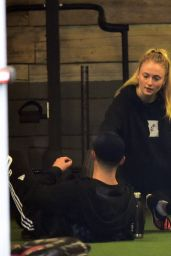 Sophie Turner - Working Out in West Hollywood 1/5/ 2017