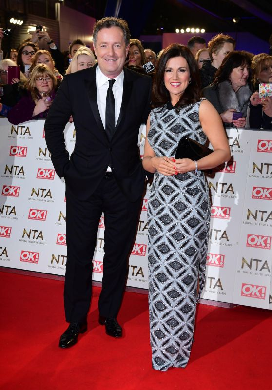 Susanna Reid – National Television Awards in London 1/25/ 2017