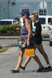 Tallia Storm - Shopping During Her Holiday in Barbados 1/2/ 2017