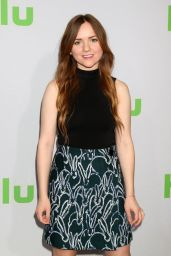 Tara Lynne Barr - HULU TCA Winter 2017 Photo Call in Pasadena