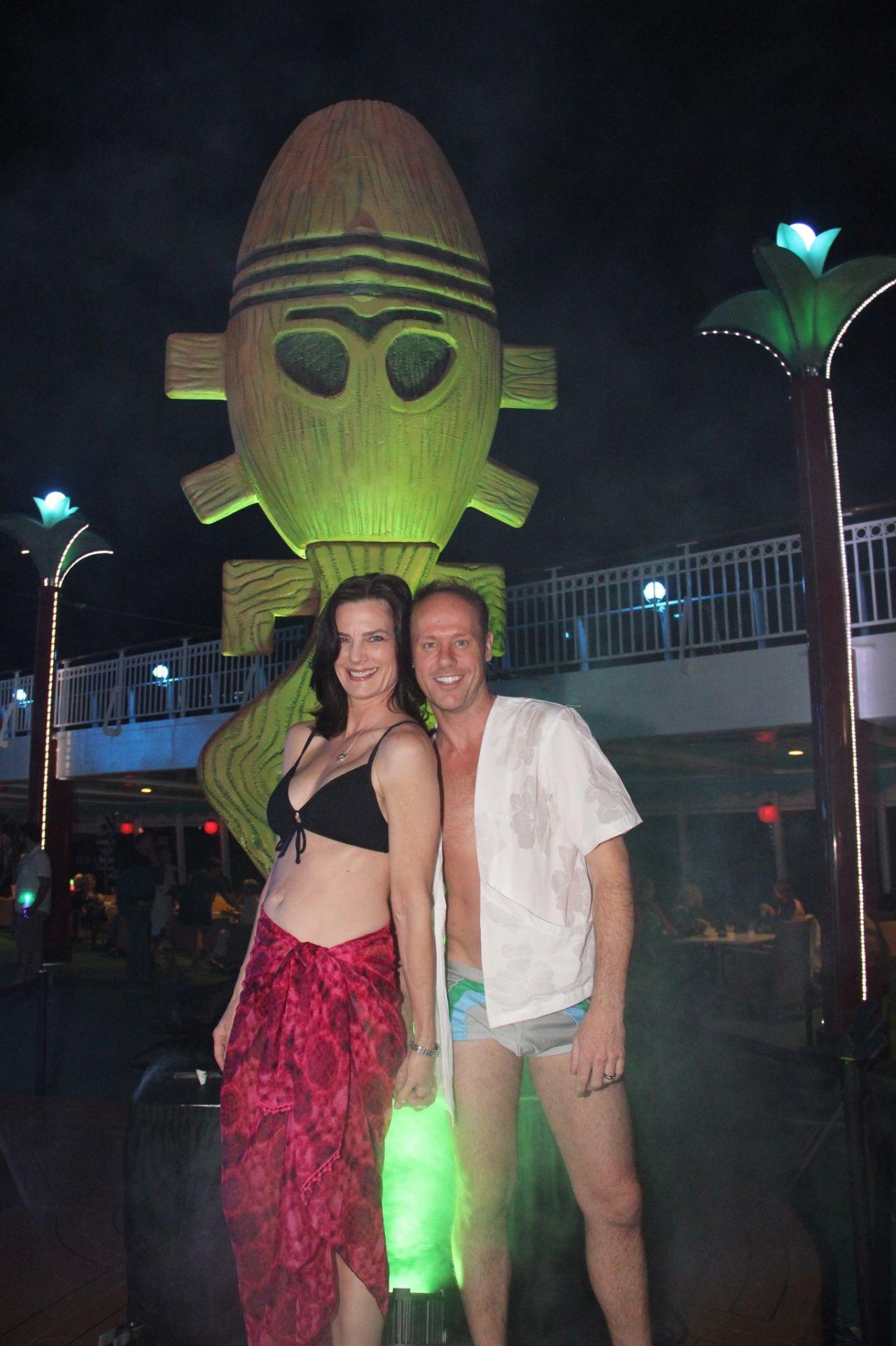 Awesome wife Star bikini top