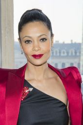 Thandie Newton – Schiaparelli Haute Couture Spring/Summer Show in Paris 1/23/ 2017