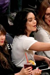 Vanessa and Stella Hudgens & Ashley Tisdale - Lakers - Pistons Game in Los Angeles 1/15/ 2017